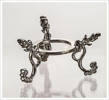 Picture of Crystal Ball Stand - Dragon (Silver Coloured)
