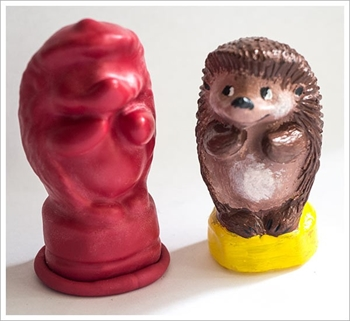 Picture of Latex Mould - Hedgehog