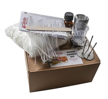 Picture of Votive Candle Making Kit - Festive