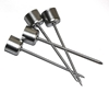 Picture of Taper Candle Pick (Silver) - Pack 4