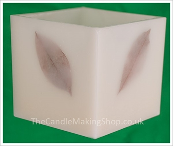 Picture of Hurricane Candle Mould - Polycarbonate (12.5 cm cube)