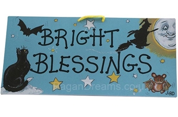 Picture of Smiley Sign - Bright Blessings