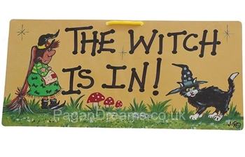 Picture of Smiley Sign - The Witch Is In!