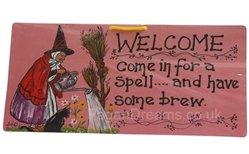 Picture of Smiley Sign - Welcome (Come In For A Spell)