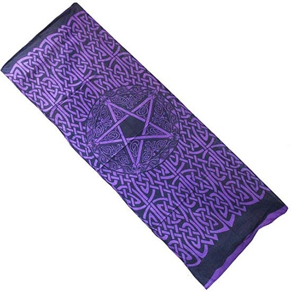 Picture of Altar Runner Cloth (Pentacle)