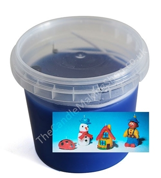 Picture of Modelling Candle Wax - Blue (250g)