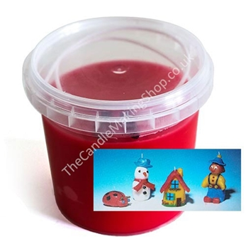 Picture of Modelling Candle Wax - Red (250g)
