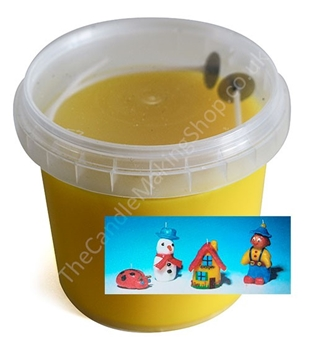 Picture of Modelling Candle Wax - Yellow (250g)