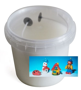 Picture of Modelling Candle Wax - White (250g)