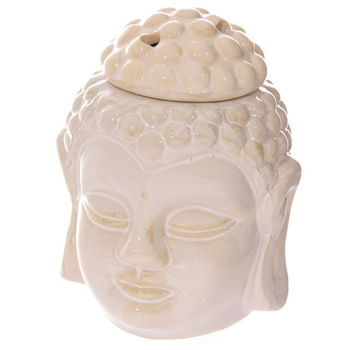 Picture of Thai Buddha Head Oil Burner - Cream