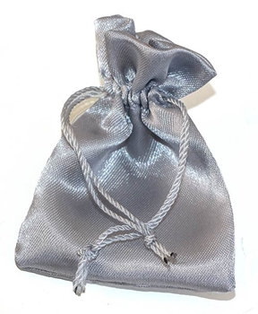 Picture of Satin Pouch - Silver (Sml)