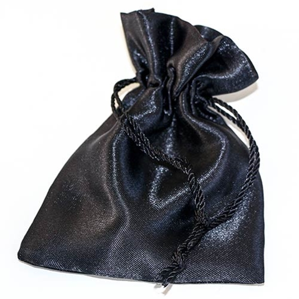 Picture of Satin Pouch - Black (Lrg)