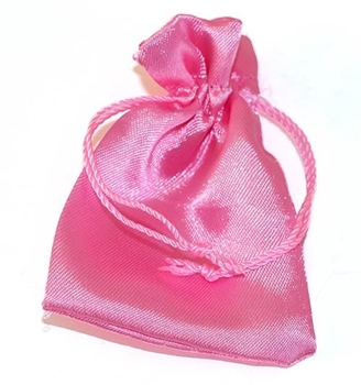 Picture of Satin Pouch - Pink (Sml)