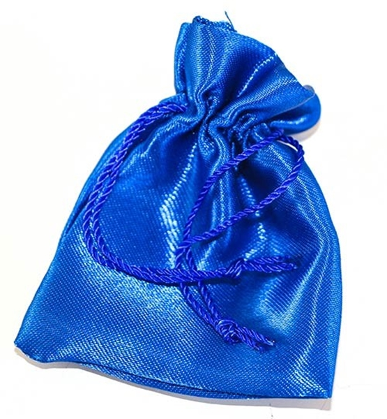 Picture of Satin Pouch - Royal Blue (Sml)