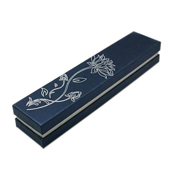 Picture of Bracelet Necklace Box - Lotus (Midnight Blue)