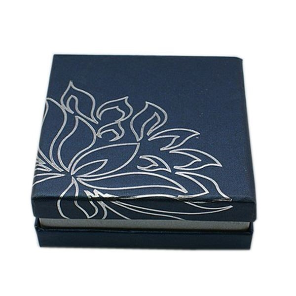 Picture of BanglePendant Box - Lotus (Midnight Blue)