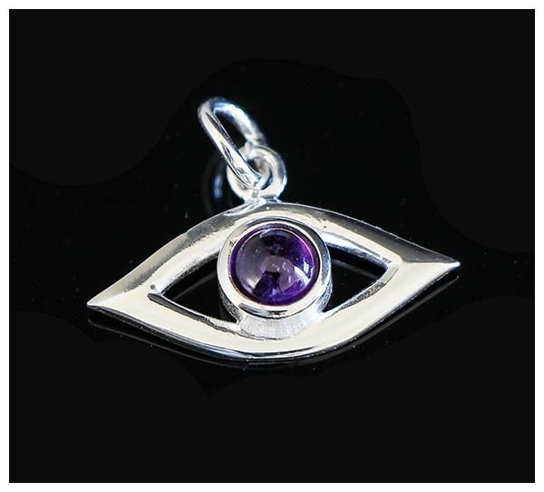 Picture of Evil Eye Pendant - Amethyst