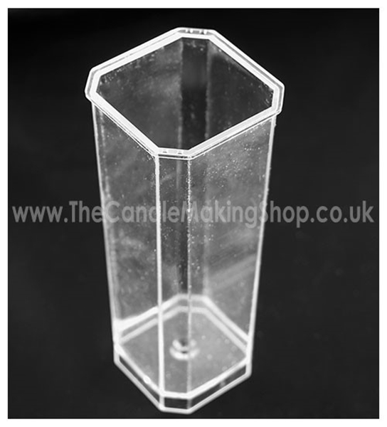 Picture of Square Candle Mould (Cut Corners) - Tall