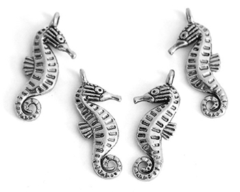 Picture of Seahorse Charm - Pk 20