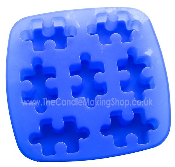 Picture of Jigsaw Pieces - Silicone Mould (Tray)