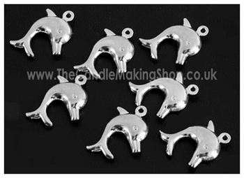 Picture of Dolphin Charm - Pk 20