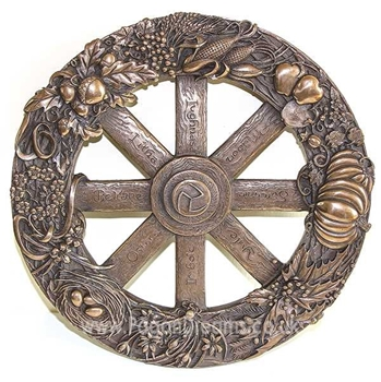 Picture of Wheel Of The Year - Wall Plaque