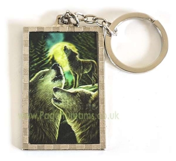 Picture of Wolf Song - 3D Keyring