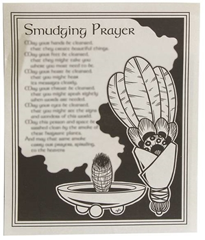 Picture of Smudging Prayer - Quick Reference Guide (A4)
