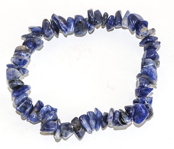 Picture of Sodalite Gemstone Chip Bracelet
