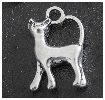 Picture of Cat (Standing) Charm - Pack 20