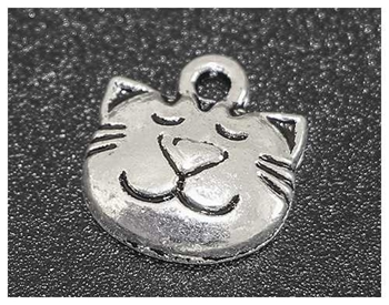 Picture of Cat Face Charm - Pack 20