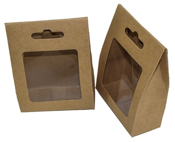 Picture of Window Gift Box - Natural (Pack of 12)