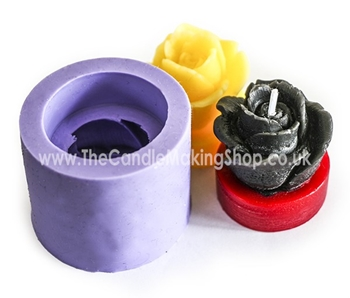Picture of Silicone Mould - Rose Tea Light