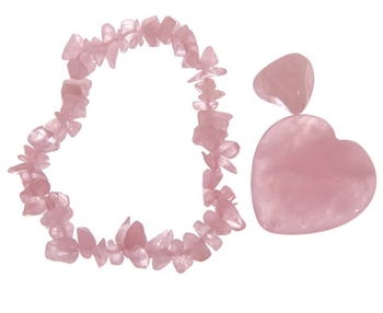 Picture of Love Token Gift Set - Rose Quartz