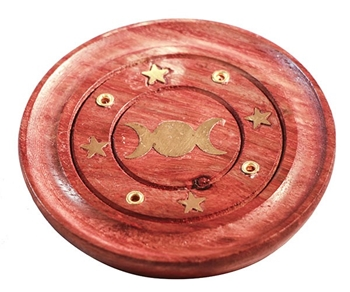 Picture of Triple Moon - Incense Stick Holder