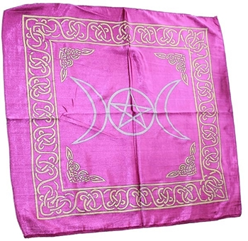 Picture of Altar Cloth - Triple Moon (Purple)