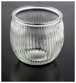 Picture of Ribbed Ball Candle Holder