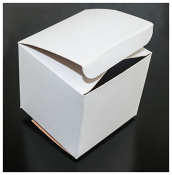 Picture of Box - White Card  Pk 5 (76x76x76mm)