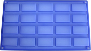 Picture of Mini Brick Shaped Silicone Mould