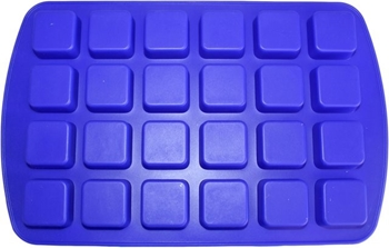 Picture of Mini Square Shapes Silicone Mould