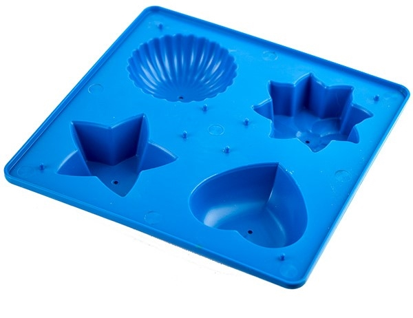 Picture of Shapes Candle Tray - Blue