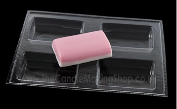 Picture of Dome Top Soap Mould - 4 Cavity