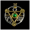 Picture of Elemental Talisman Card And Pendant - Earth