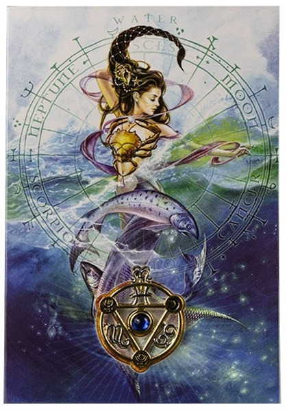 Picture of Elemental Talisman Card And Pendant - Water