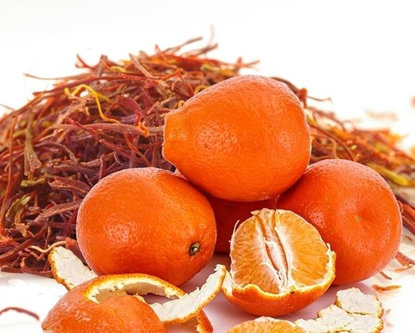 Mandarin Spiced Saffron Fragrance image