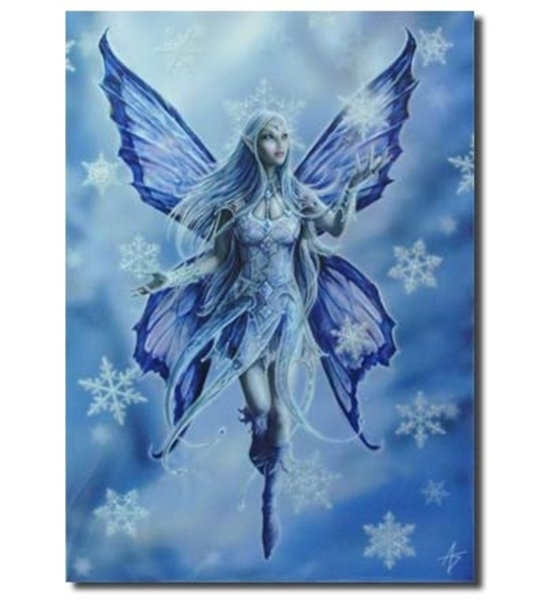 Picture of Yule Card - Snowflake  Fairy (Anne Stokes)