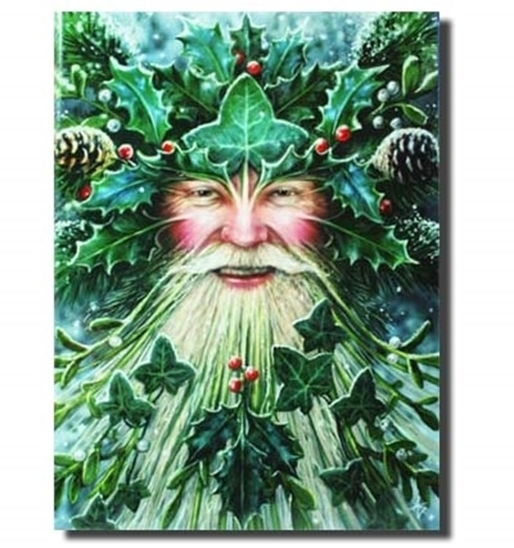 Picture of Yule Card - Spirit of Yule (Anne Stokes)