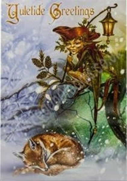 Picture of The Holly Jack - Yule Card