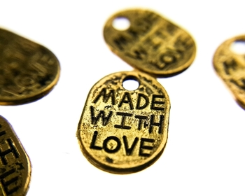 Made With Love Charm Image