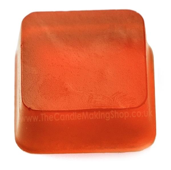 Orange Soap Dye Image